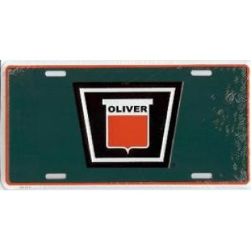 Oliver Tractor License Plate