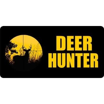Deer Hunter Photo License Plate