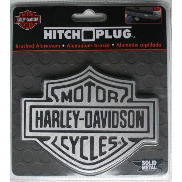 Harley-Davidson Brushed Aluminium Logo Hitch Cover
