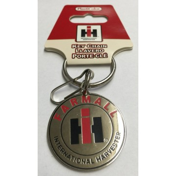 Farmall International Harvester Enamel Keychain