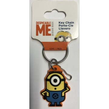 Despicable Me Minion Rubber Key Chain