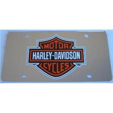 Harley-Davidson Silver Laser License Plate