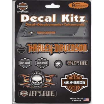 Harley-Davidson Assorted Decal Kitz