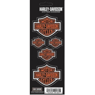 Harley-Davidson Bar and Shield Decals
