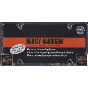 Harley-Davidson Chrome License Frame