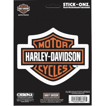 Harley-Davidson Bar And Shield Stick Onz Decal