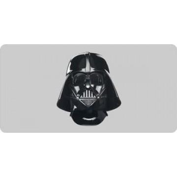 Darth Vader Helmet License Plate
