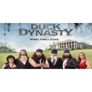 Duck Dynasty Photo License Plate