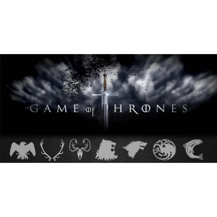 Game Of Thrones Photo License Plate