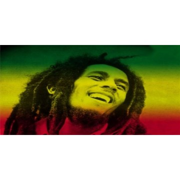Bob Marley Photo License Plate