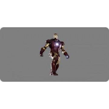 Iron Man Photo License Plate