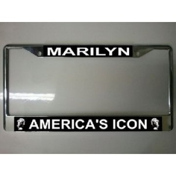 Marilyn America's Icon Photo License Plate Frame