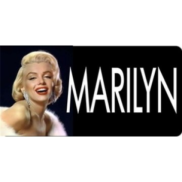 Marilyn Monroe Photo License Plate