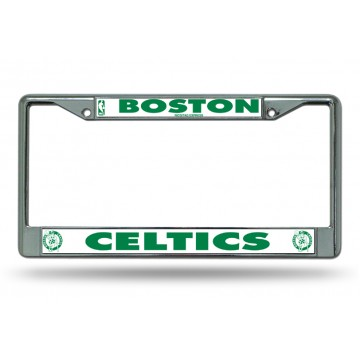 Boston Celtics Chrome License Plate Frame