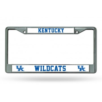 Kentucky Wildcats Chrome License Plate Frame