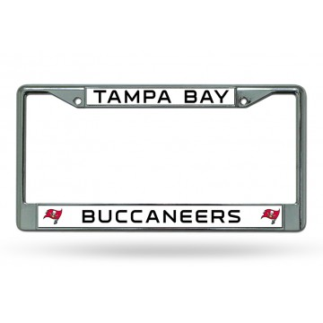 Tampa Bay Buccaneers Chrome License Plate Frame
