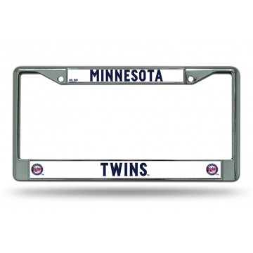 Minnesota Twins Chrome License Plate Frame