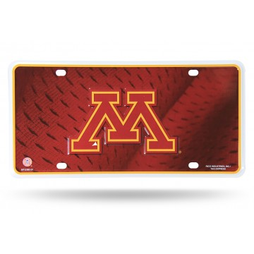 Minnesota Golden Gophers Metal License Plate