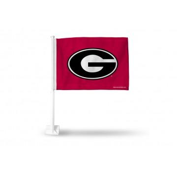 Georgia Bulldogs Car Flag