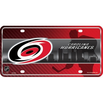 Carolina Hurricanes Metal License Plate