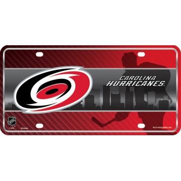 Carolina Hurricanes Metal License Plate