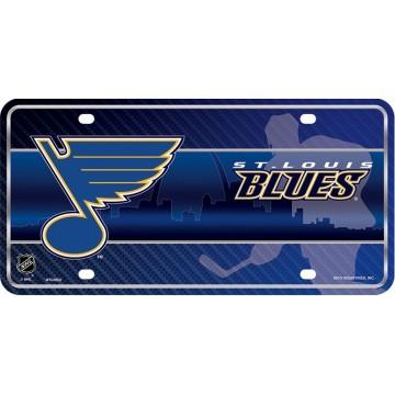 St. Louis Blues Metal License Plate