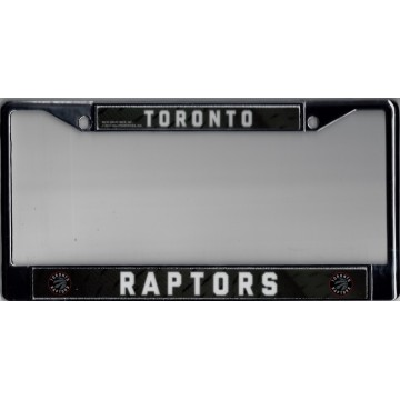 Toronto Raptors Chrome License Plate Frame