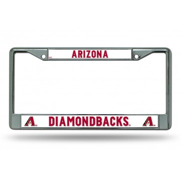 Arizona Diamondbacks Chrome License Plate Frame