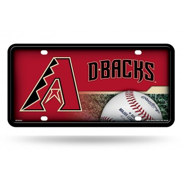 Arizona Diamondbacks Metal License Plate