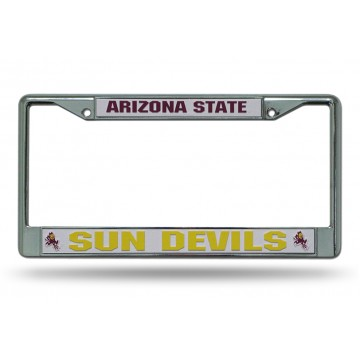 Arizona State Sun Devils ASU Chrome Frame