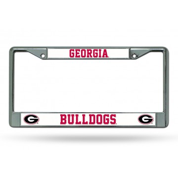 Georgia Bulldogs Chrome License Plate Frame