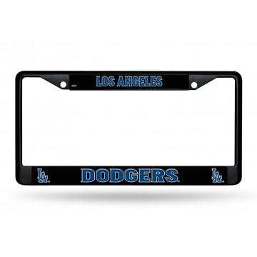 Los Angeles Dodgers Black License Plate Frame