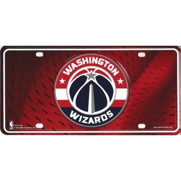 Washington Wizards Metal License Plate
