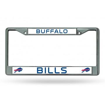 Buffalo Bills Chrome License Plate Frame