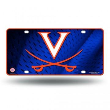 Virginia Cavaliers Metal License Plate