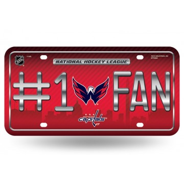 Washington Capitals #1 Fan License Plate