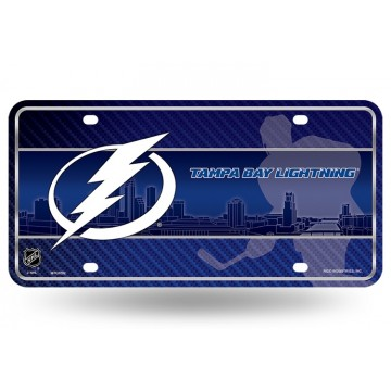 Tampa Bay Lightning Metal License Plate