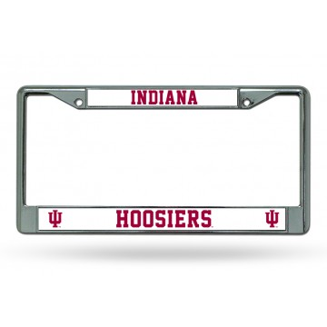 Indiana Hoosiers Chrome License Plate Frame