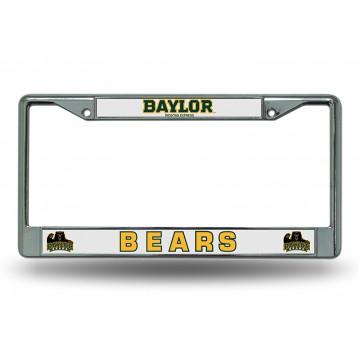 Baylor Bears Chrome License Plate Frame