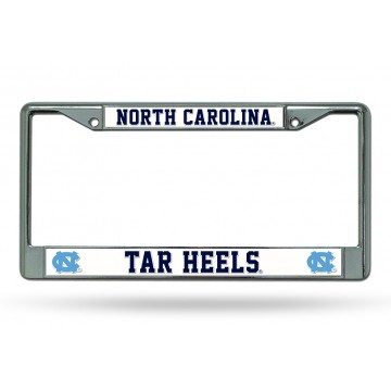 North Carolina Tar Heels Chrome License Plate Frame