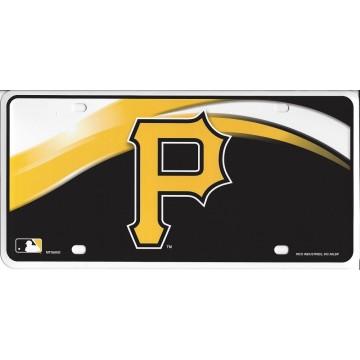 Pittsburgh Pirates Metal License Plate