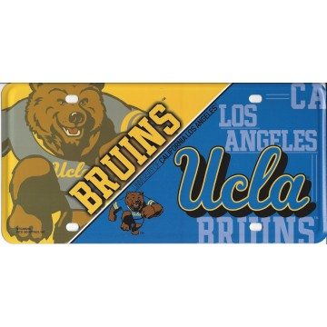 UCLA Bruins Metal License Plate