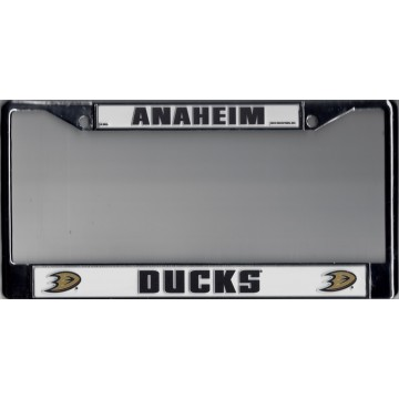 Anaheim Ducks Chrome License Plate Frame