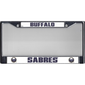 Buffalo Sabres Chrome License Plate Frame