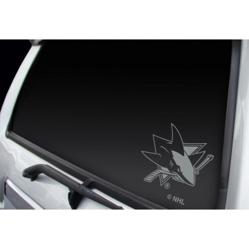 San Jose Sharks Window Decal