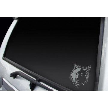 Minnesota Timberwolves Window Decal