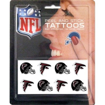 Atlanta Falcons 8-PC Peel And Stick Tattoo Set