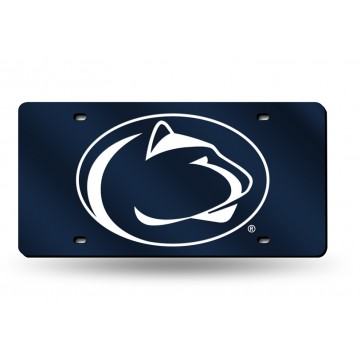Penn State Nittany Lions Blue Laser License Plate