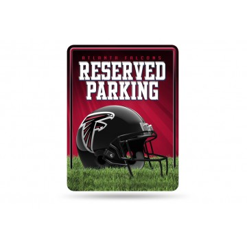 Atlanta Falcons Metal Parking Sign