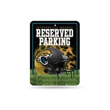 Jacksonville Jaguars Metal Parking Sign